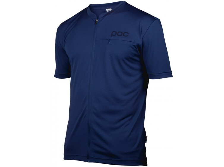 Cyklodres POC Trail Light Zip Tee
