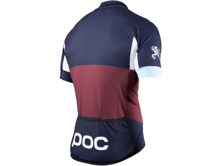 dres POC Ritte Jersey Men maroon red